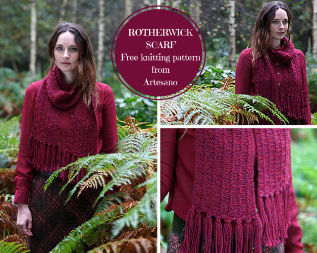 ROTHERWICKSCARFA free pattern from